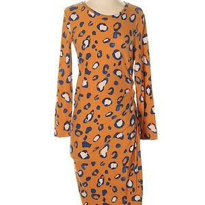 3.1 Phillip Lim for Target Leopard Ruched Dress